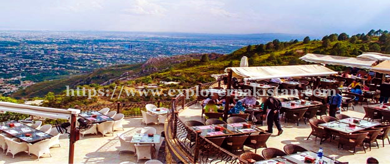 monal restaurant - islamabad famous places