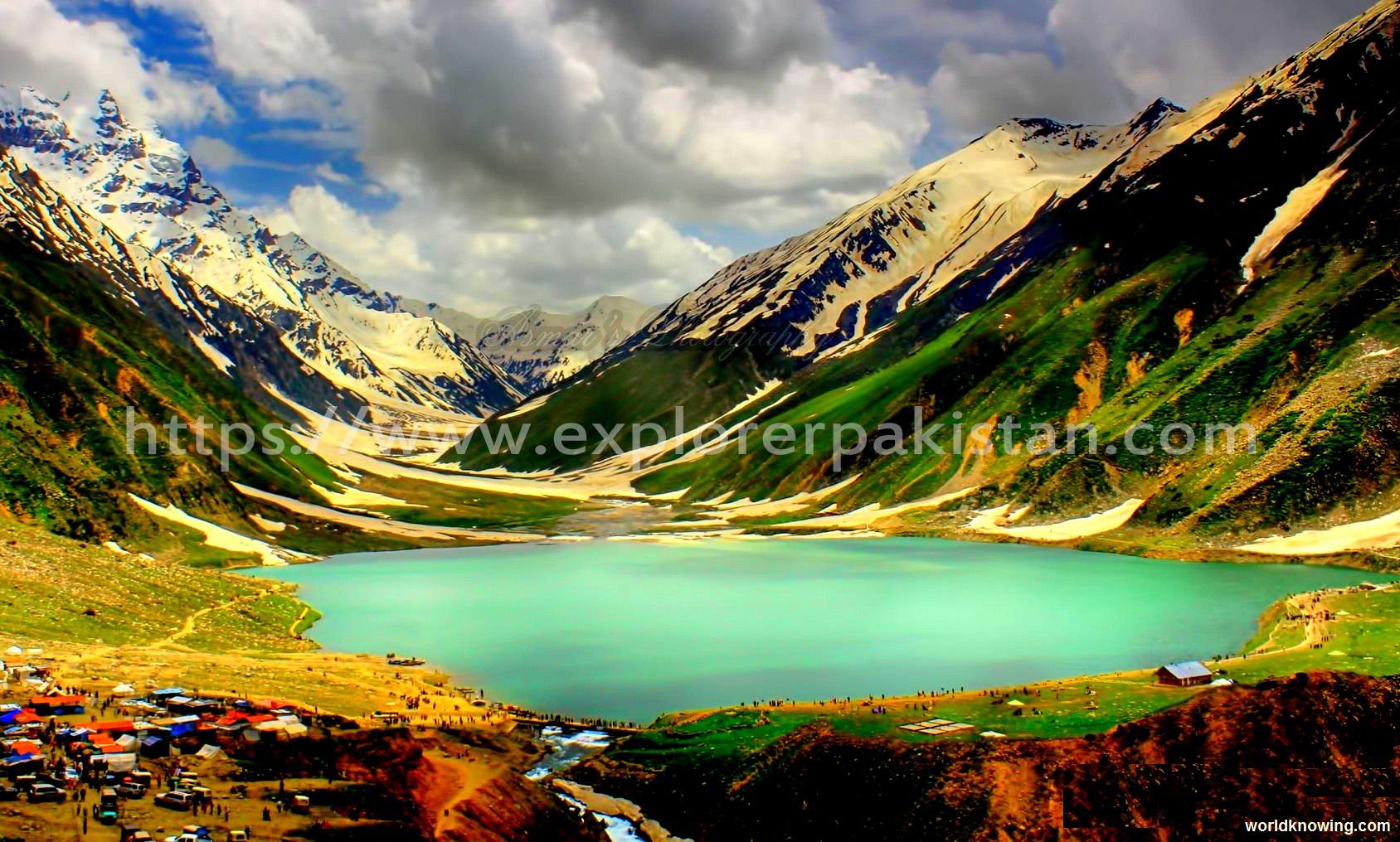 Lake Saif-ul-Malook - beautiful places in pakistan