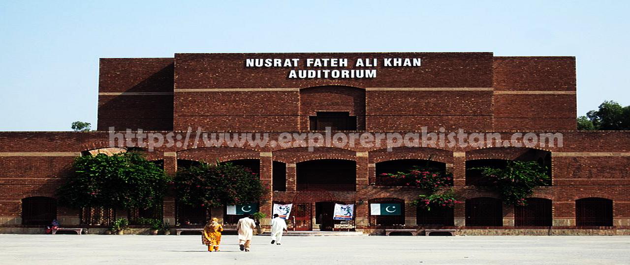 Nusrat Fateh Ali Khan Auditorium