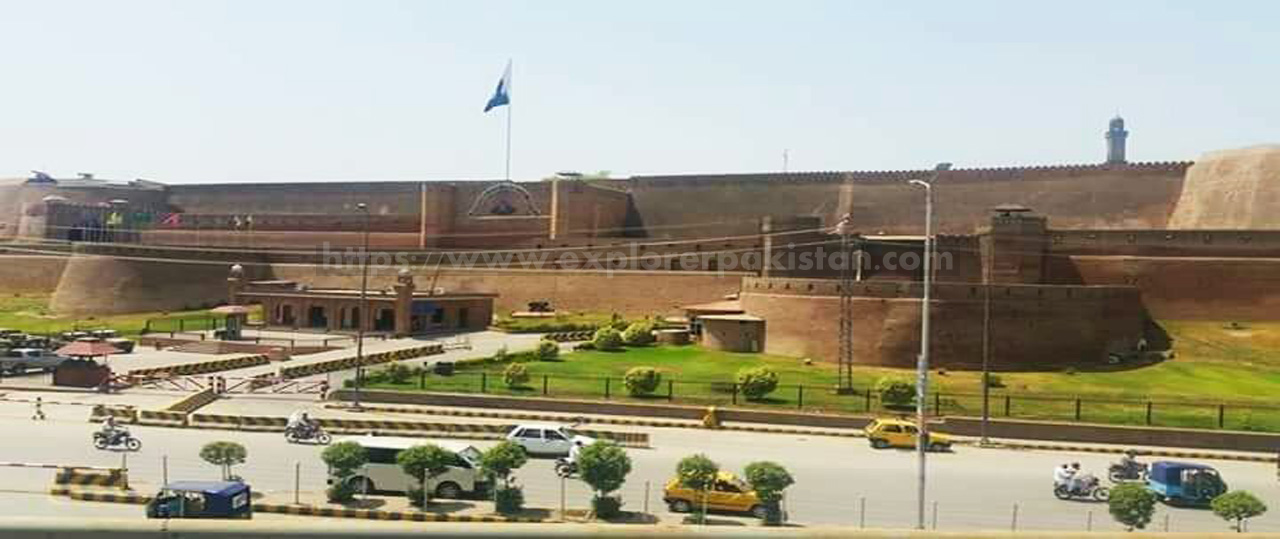 Bala Hisar Fort - best forts in pakistan