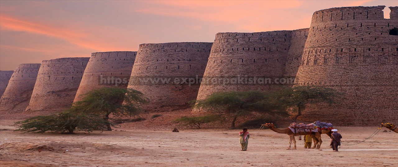 Derawar Fort - forts in pakistan
