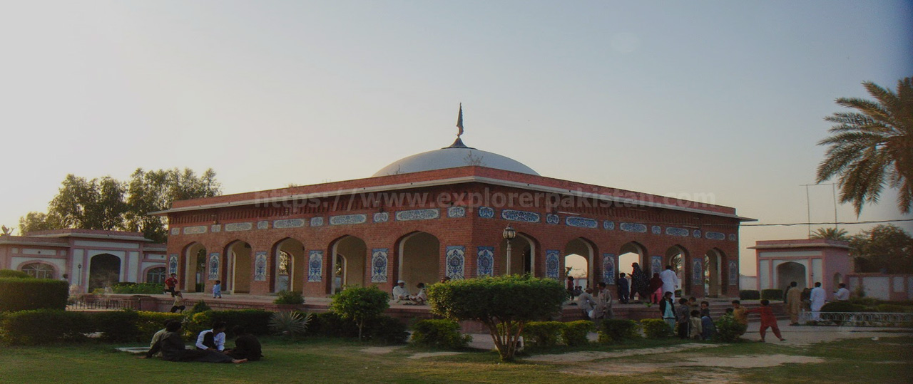 Waris Shah Tomb