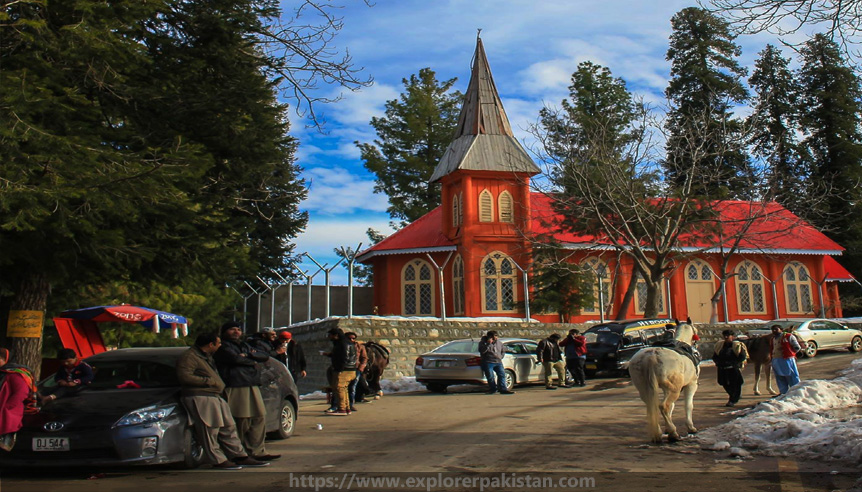 nathiagali church