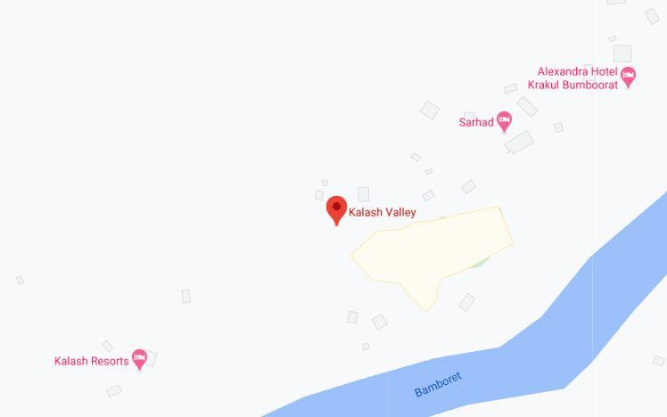 kalash valley map