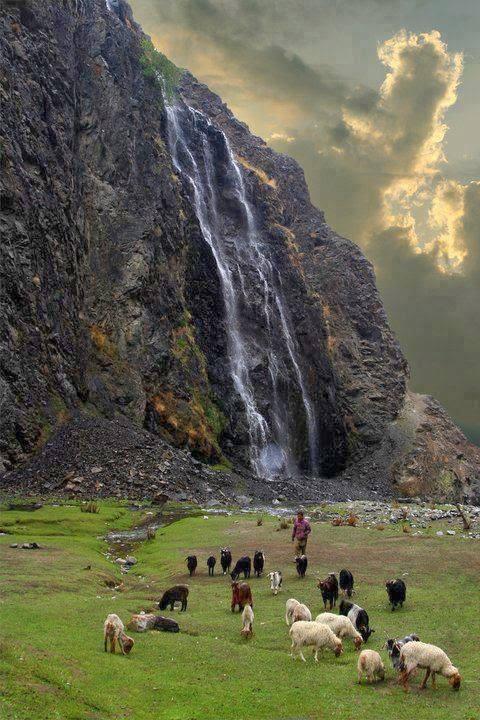 Manthoka Waterfalls