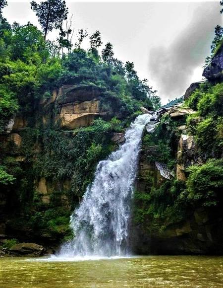 Shingrai Waterfall