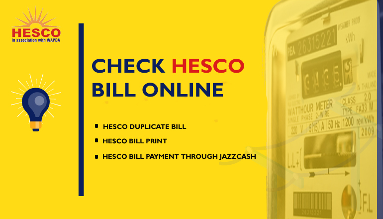 HESCO BILL ONLINE CHECK