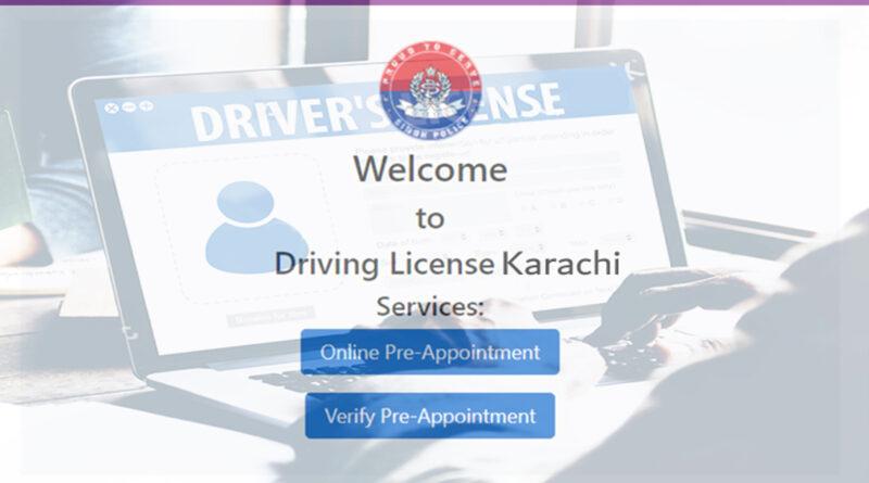 Driving License Karachi