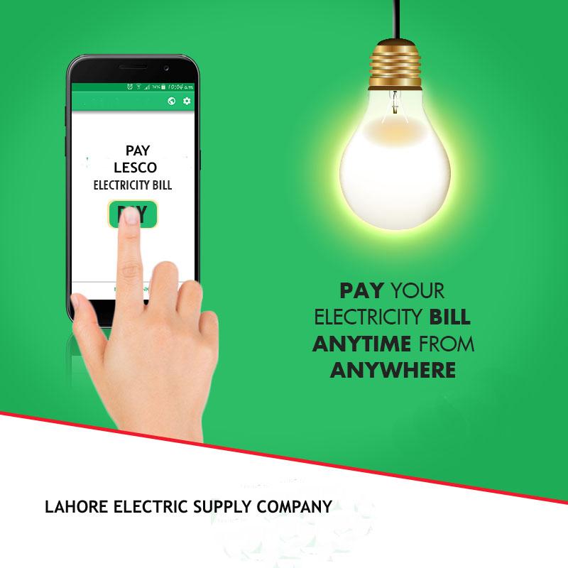 lesco online bill payment