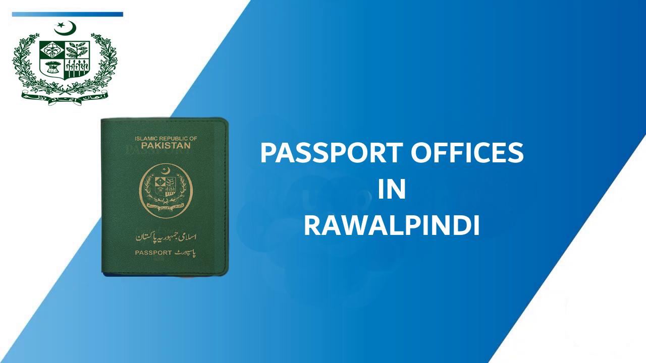 Passport offices in rawalpindi